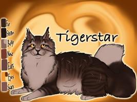 Tigerstar of ShadowClan - Silent Sacrifice by Jayie-The-Hufflepuff