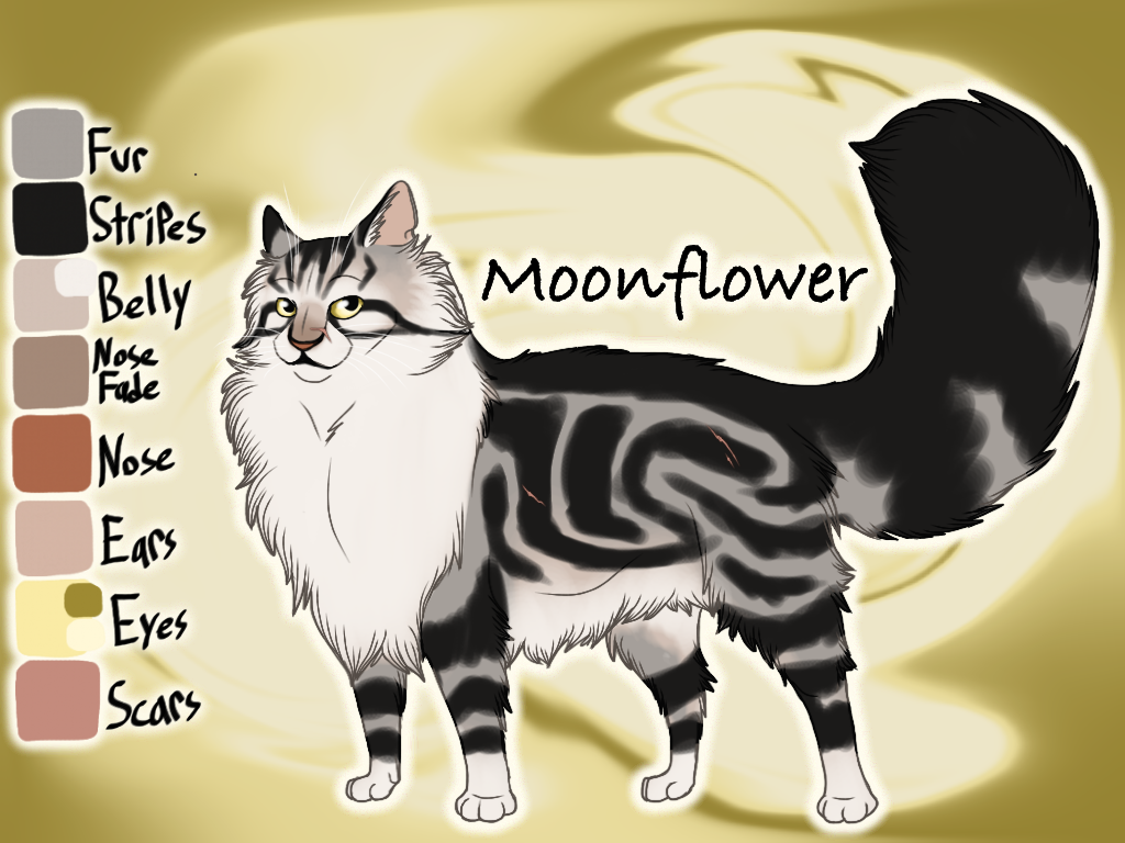 Moonflower of ThunderClan - Bluestar's Prophecy by Jayie-The-Hufflepuff