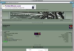Mac IE VS. deviantART by BPMdotEXE