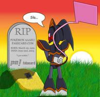 RIP Pokemon Aaah. AKA FakeCard by BPMdotEXE