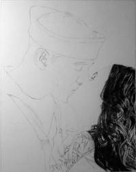 Emily and Travis WIP by JamesObert