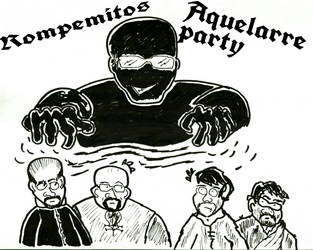 Rompemitos - Aquelarre party by VWolfPlayer