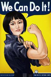 MAKO MORI - WE CAN DO IT! by Jubop