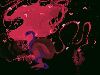 Dark entity approaches by Zelda-muffins