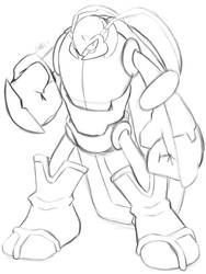 Anuar the Titan Beetle by RonelltheHedgehog