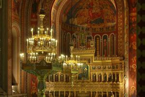 Church, interior, light by mariustipa