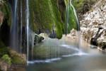Bigar Waterfall, close up by mariustipa