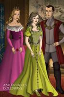 Disney Families- Aurora, Phillip, and Anna-Marie by shenerdist