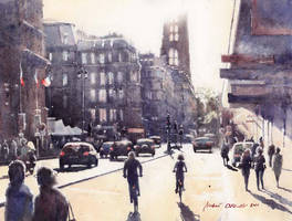 Rue de Rivoli by micorl