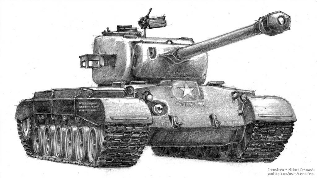 Pershing tank by micorl