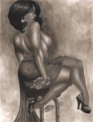 Sexy Drapery by DAVIDGMILEY