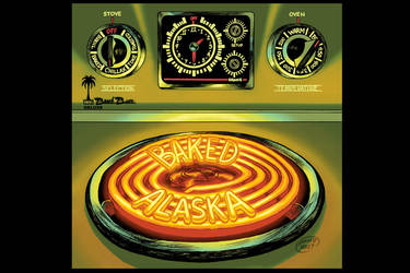 Baked Alaska cover art by DAVIDGMILEY