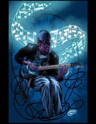 Tony Blues Brown by DAVIDGMILEY