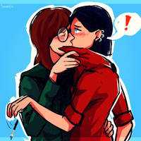 Jane and Daria by C-Dawnav
