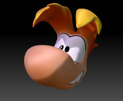Rayman Head Close up 01 by sav8197