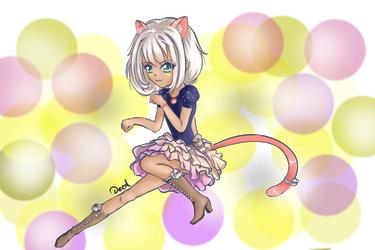 Cat by deedzio