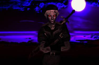 Dark Link In The Moonlight - Simdrew1993 by Simdrew1993