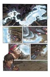 Muskwa Comic Page Colours by coreylansdell