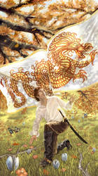 The Dragon Reborn by coreylansdell