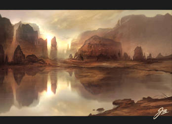desert by YoBarte