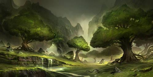 Aeraalas Woodlands by YoBarte