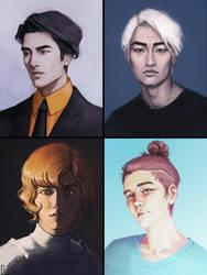 Portraits by AdamaSto