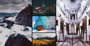 Landscape studies 3 by AdamaSto
