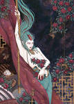 Furutsubaki no Rei (Old tsubaki spirit) by AdamaSto