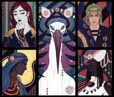 Faces of thousand nights by AdamaSto