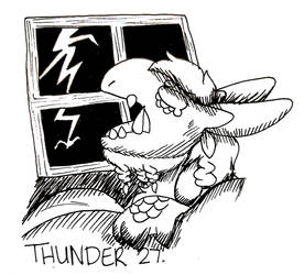 Inktide #27 - Thunder by ChaoticAstronaut