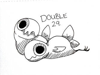 Inktide #29 - Double by ChaoticAstronaut