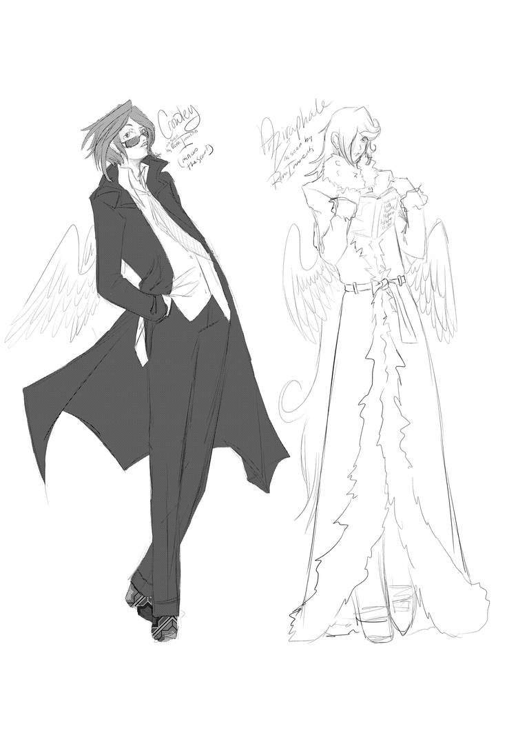 Good Omens Fanart Hell Yes By Renainnocenti On Deviantart