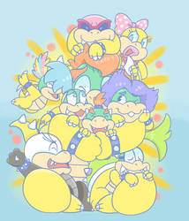 Bowser= Best Dad by Bowsaremyfriends