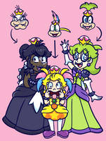 More Princess Koopalings by CreamChao427