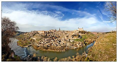 Toledo Panoramic by justinblackphotos
