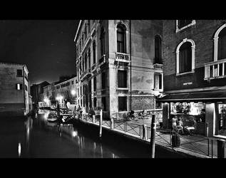 Night in Venezia by justinblackphotos