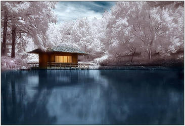 Japanese Tea House by justinblackphotos