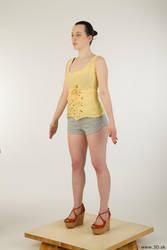 0002 Hazel - Whole Body Reference by 3DskPhotoReference