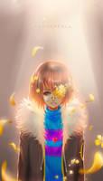 Flowerfell - Frisk by xFlamie