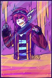 Grab Bag Comm :: BloodLustingCreature by NotDamien