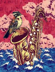 Come maiz y Saxofon by JoJuelo