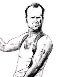 Bruce Willis by Dark--wolf