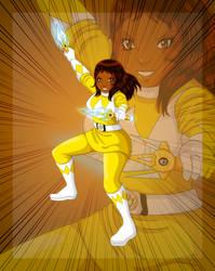 :Commission: Me as A Power Morrison Ranger! by Kimeria87