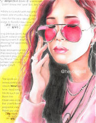 Heize Drawing  by heycerealll