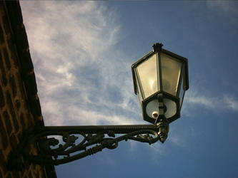 street lamp by vankevich