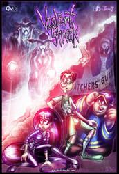 VioleNt Streak #4 Front Cover by JarrrodElvin