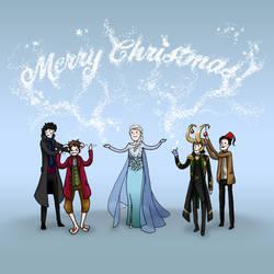 Merry Christmas, everyone! by Ashqtara