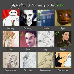 Summary of Art 2015 by Ashqtara