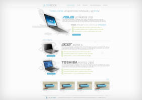 Ultrabook web by Ingnition