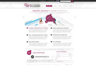Web studio artcode.cz by Ingnition